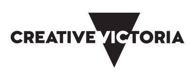 Creative Victoria logo.