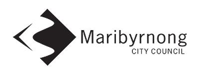 Maribyrnong City Council logo.